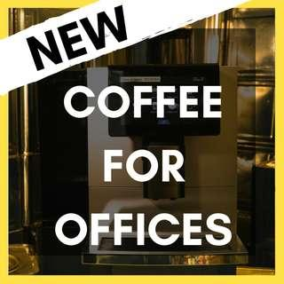 New Office Coffee Machine