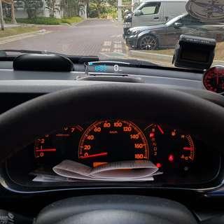 Honda Edix FRV EANOP HUD OBD OBD2 Gauge