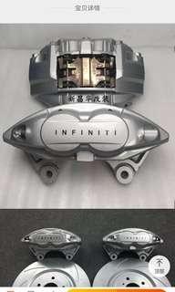 Infiniti g37s 原廠 前四後二碟煞