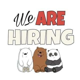Temp Packer / Retail Staff needed (apply with friends!)