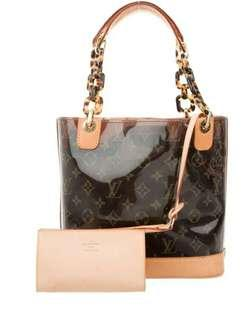 Jual Tas Louis Vuitton Vinyl Original Second Preloved Authentic LV Branded Bag
