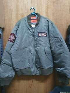 RARE AIRWOLF Flight Jacket