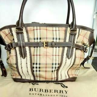 Jual Tas Burberry Original Second Preloved Authentic branded Bag