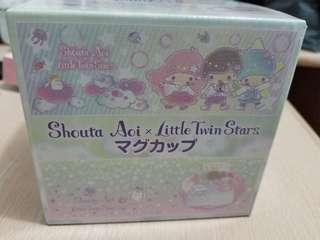 Little Twin Stars x Shouta Aoi 雙子星 蒼井翔太 日本 景品 限量版 杯