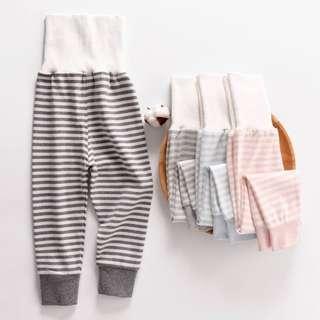 預購-韓版條紋護肚長褲 兒童長褲