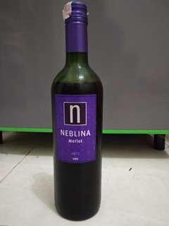 Red Wine Neblina - Merlot - 2017 Chile