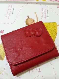 Hello kitty red wallet