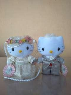 Boneka Hello Kitty Romantic Wedding Sanrio Original