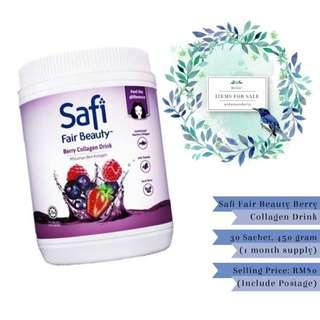 Items For Sale: (Authentic) Safi Fair Beauty Berry Collagen Drink (450g)