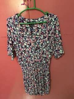 H&M button down dress
