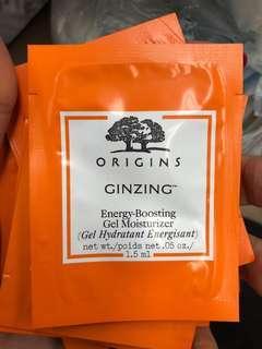 origins Ginzing energy boosting Gel moisturizer 1.5ml