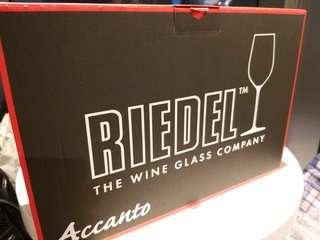 new Riedel red wine glasses set 4 accanto made in germany