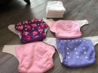 🚚 Reusable Cloth Diapers