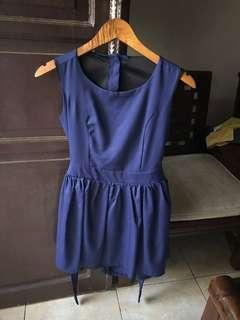 Blue Dress party, formal