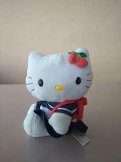 Boneka Hello Kitty School Uniform Sanrio Original