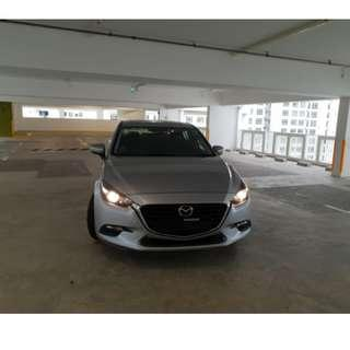 Mazda 3 1.5A monthly rental