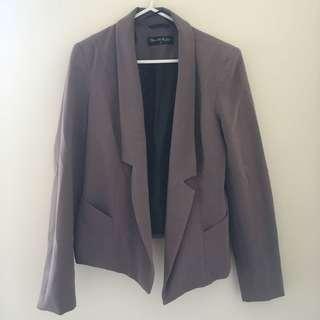 Miss Selfridge Grey Work Jacket