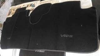 Car seat cover and floor mat (vios 3rd gen stock)