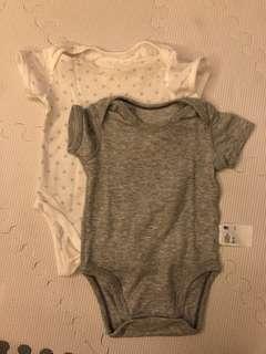 Uniqlo Baby Mesh Onesies (Set of 2)