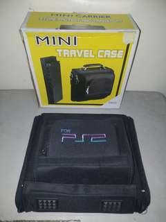 PS2/ Playstation 2 Slim Travel Case Bag