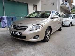 Toyota Altis For GRAB