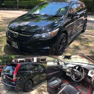 Sporty Honda Stream For Rent MPV