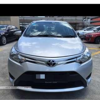 Toyota Vios 1.5A E for monthly rental