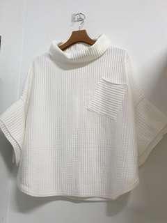 🚚 白色條紋 造型上衣