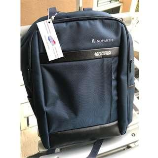 Brand New American Tourister Kamden Laptop Backpack(Navy)