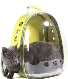Pet Carrier Transparent Astranaut Cat Carrier