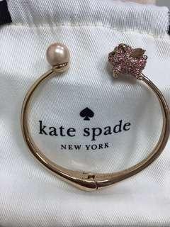 『2月份購入』-美國正貨-Kate spade玫瑰金手環(K10材質)