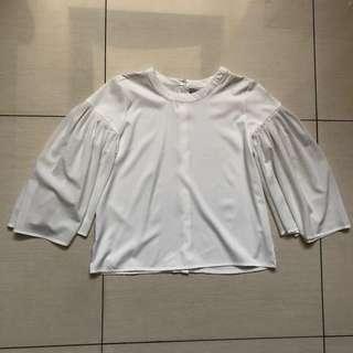 Plains and Prints RAF Wonju white top