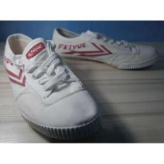 Feiyue Classico White-Red Shoes