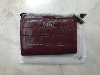 Authentic coach wallet #RHD80