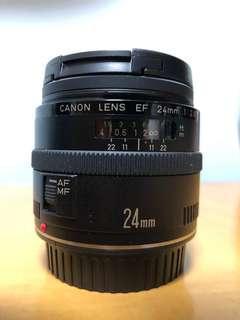 Canon EF 24mm f/2.8 Lens 廣角鏡
