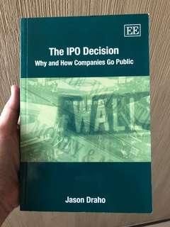 The IPO Decision by Jason Draho