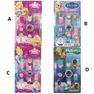 3D Lego Watches for Girls Princess PO