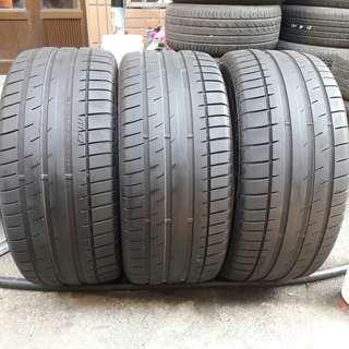 彰化員林 中古輪胎 二手輪胎 245 45 17 馬牌 實體店面免費安裝