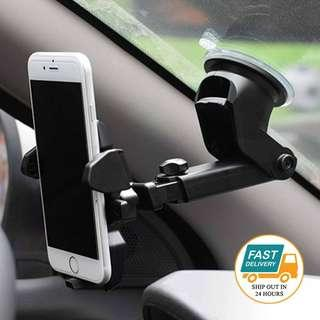 Mobile Phone Holder With Silicon Sucker 360 Degree