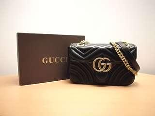 Gucci Marmont Matelassé Shoulder Bag