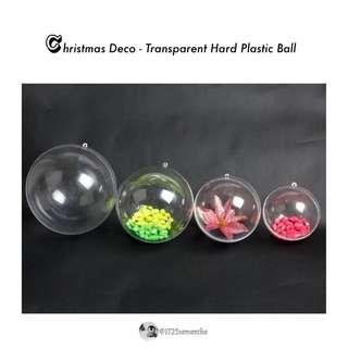 [BN] Decoration - Transparent Hard Plastic Ball #MFEB20