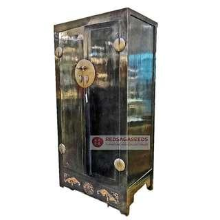 Antique  Black Wedding Cabinet on Clearance Sale