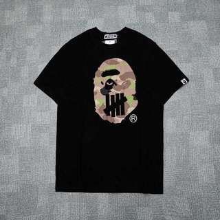 Tshirt Bape x Undefeated UNDFTD 19SS