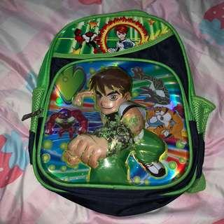 🚚 Ben 10 School Bag