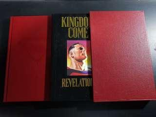 Kingdom Come HC Slipcase Edition - Signed and Numbered! RARE!