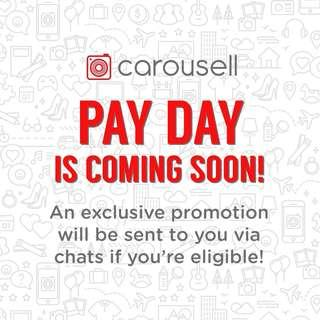 Exclusive promo for selected users!