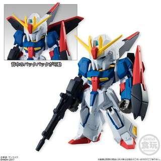 全新未開1盒 Gundam Converge Fusion Works FW Part Shape #07 37 156 Z Zeta 高達 SD BB