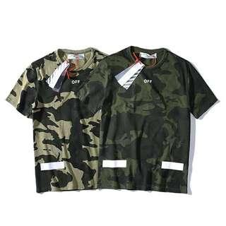 Tshirt Off White camouflage 19SS