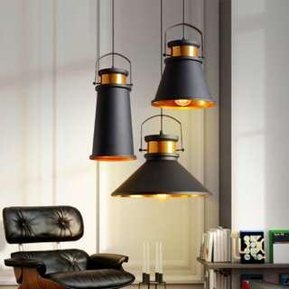 🚚 February Promo - Vintage Industrial El-Monte Pendant Light