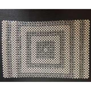 Hand made Beads Table Mat